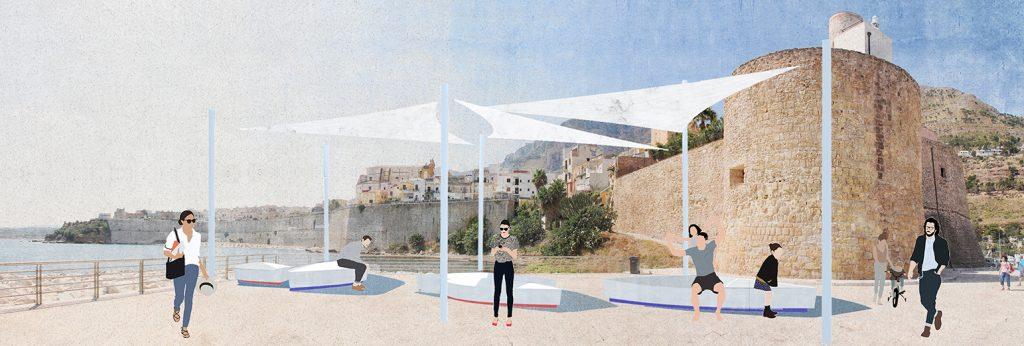 Castellammare_Sicily_waterfront requalification_Studio RoK_Piazza Stenditoio